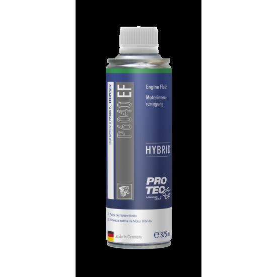 PRO-TEC Почистване на маслена система хибриди Engine Flush Hybrids 375 мл.
