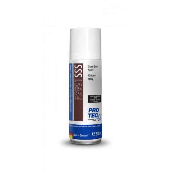 PRO-TEC Подобрява студеният старт Super Start Spray 200 мл.