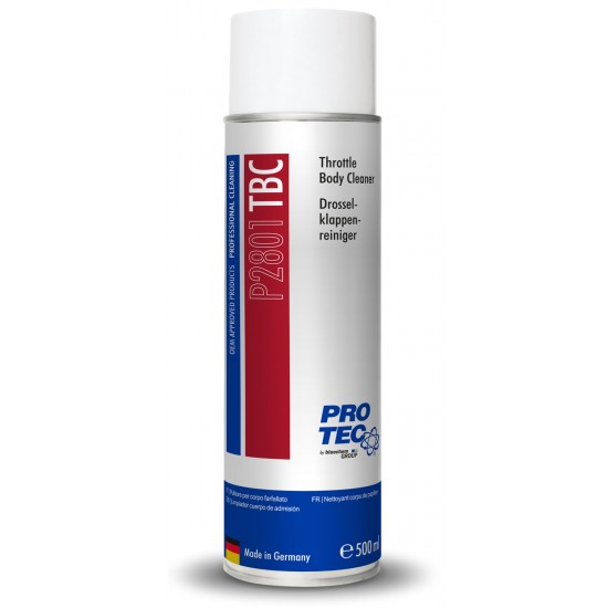 PRO-TEC Почистване на дроселови клапи Throttle Body Cleaner 500 мл.
